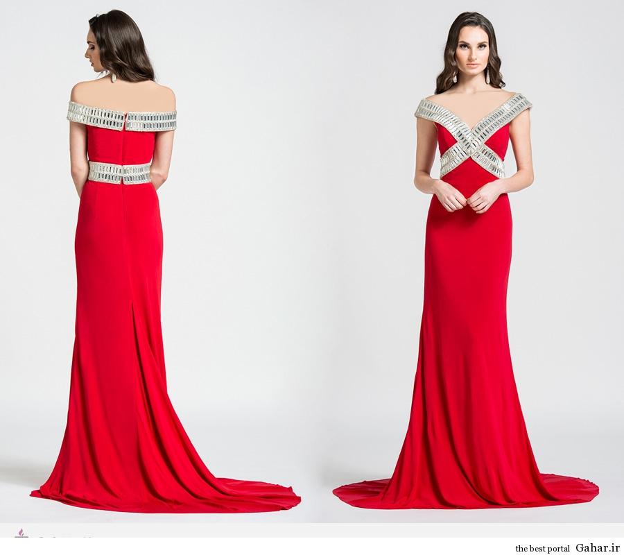 6425 مدل های لباس مجلسی زنانه ی برند Ashley Lauren