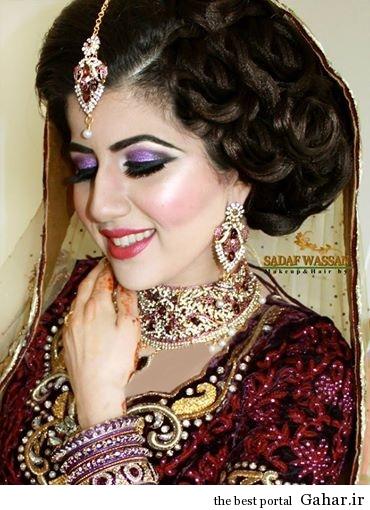arayesh hendi 3 مدل جدید آرایش عروس هندی 2014