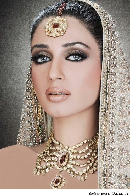 مدل جدید آرایش عروس هندی 2014