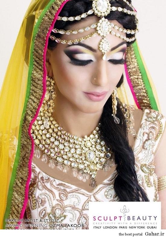 arayesh hendi 8 مدل جدید آرایش عروس هندی 2014