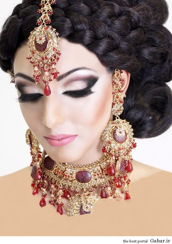 arayesh hendi 9 مدل جدید آرایش عروس هندی 2014