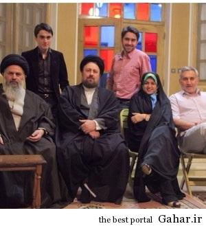 navehaye emam نوه های امام خمینی در یک نگاه / عکس