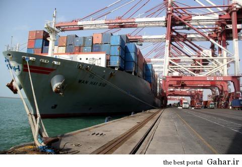 ورود اولین کشتی تجاری به بندر شهید رجایی