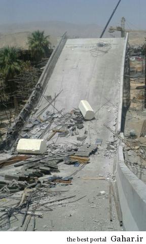 000000000 dsdvsfe 84 سقوط پل کابلی در شیراز