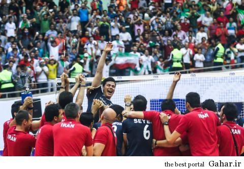 000000000 fgfdfe 45 تیم ملی والیبال ایران باز هم شگفتی ساز شد