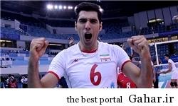 00945881 بهترین مدافع روی تور لیگ جهانی از ایران