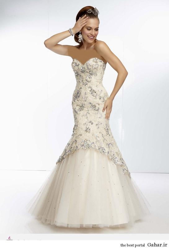 10648 مدل لباس نامزدی پرنسسی برند Mori Lee
