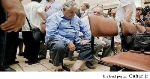114889 500x264 وقتی رئیس جمهور در صف بیمارستان منتظر ویزیت است