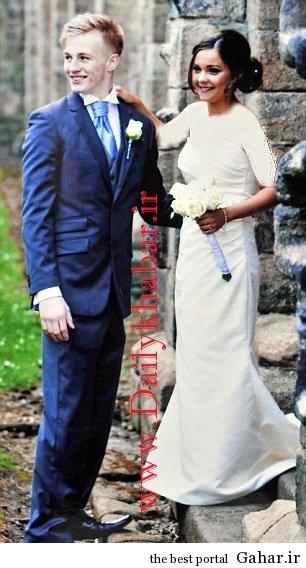 1396107525. ازدواج جالب دختر دانشجو 16 ساله با پسر 18 ساله! + عکس