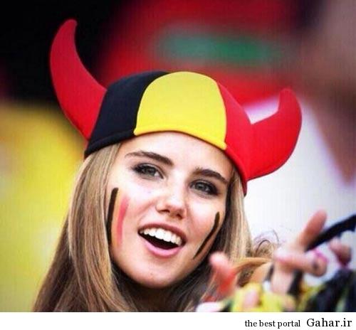 156386112 ir عکس زیباترین تماشاچی جام جهانی برزیل