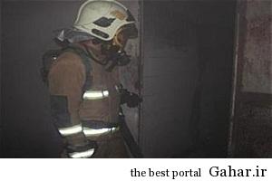 203011 پاساژ موبایل علاءالدین در آتش سوخت