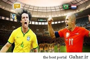 204304 برزیل باز هم شکست خورد, هلند به مقام سوم رسید