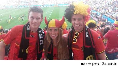 2123603738 ir عکس زیباترین تماشاچی جام جهانی برزیل