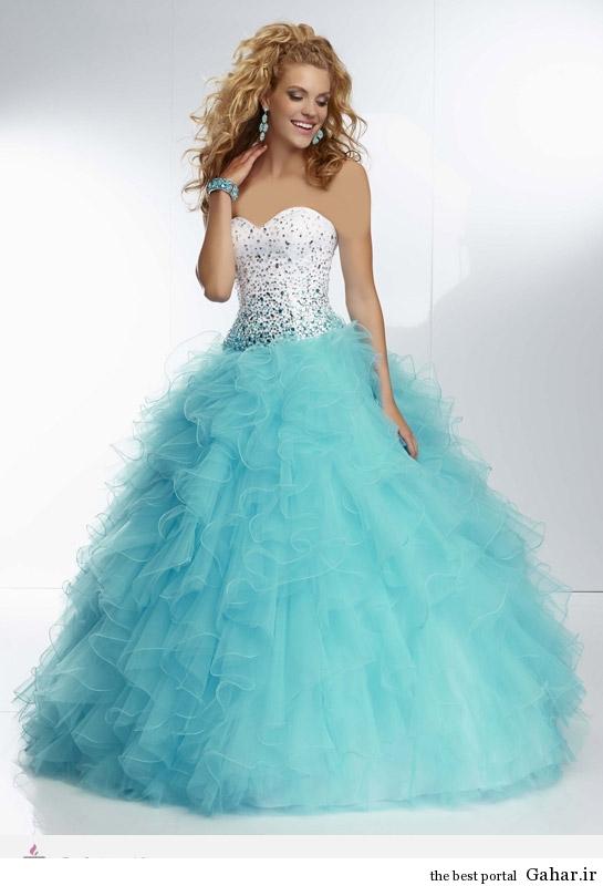 21254 مدل لباس نامزدی پرنسسی برند Mori Lee