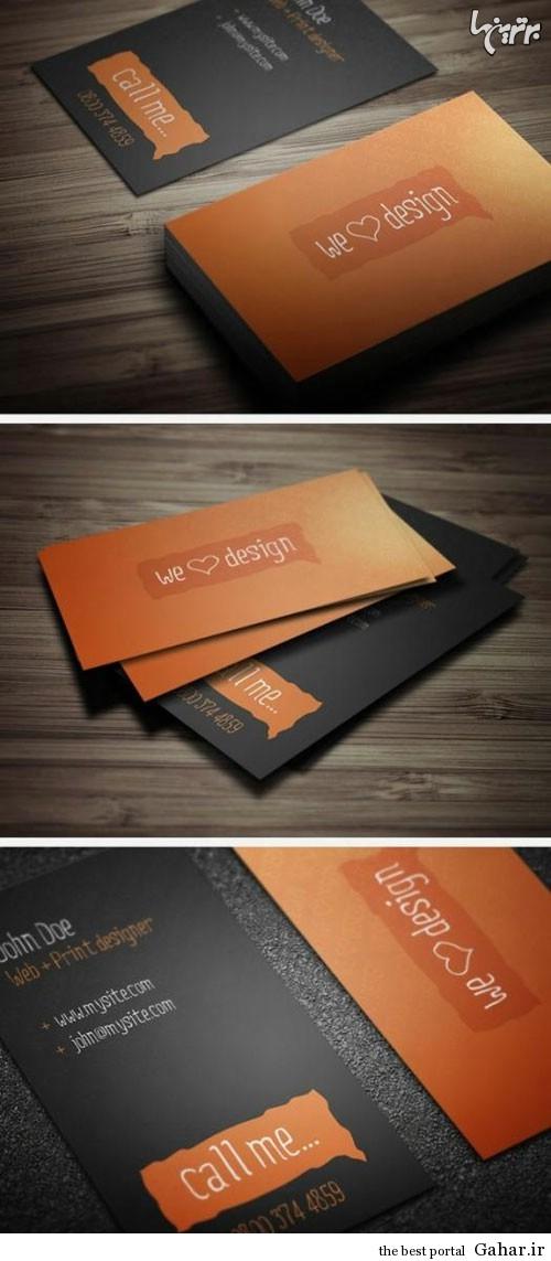 635406010757936227319850 456 طرح های جالب کارت ویزیت