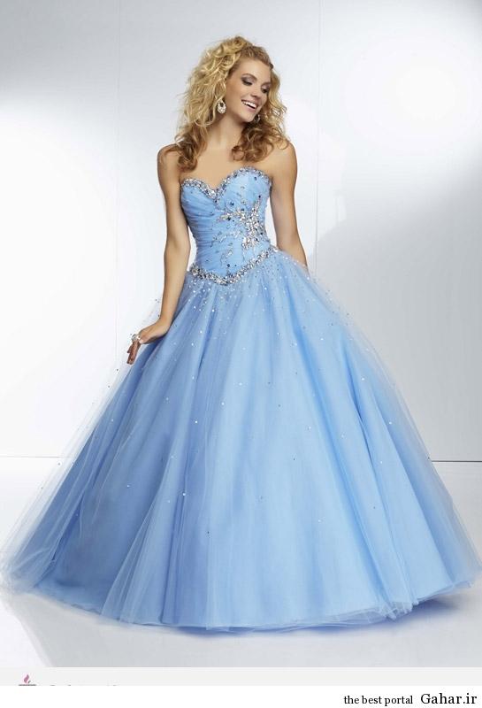 6704 مدل لباس نامزدی پرنسسی برند Mori Lee