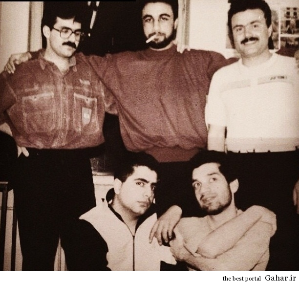 68904 عکس عطاران و رضا شفیعی جم در خوابگاه دانشجویی