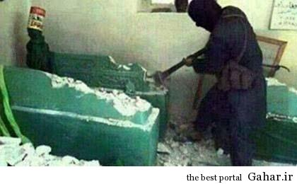 93 04 82 داعش مقبره حضرت یونس را خراب کرد