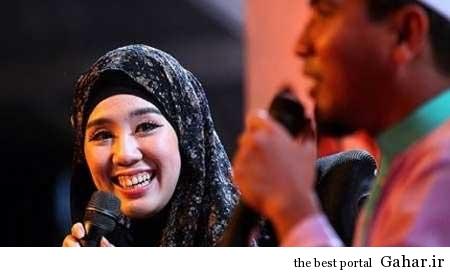9304 5m1894 مدل مالزیايي در ماه رمضان مسلمان شد / عکس