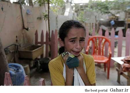 9304 6m388 کودکان غزه غرق در خون / عکس (18+)