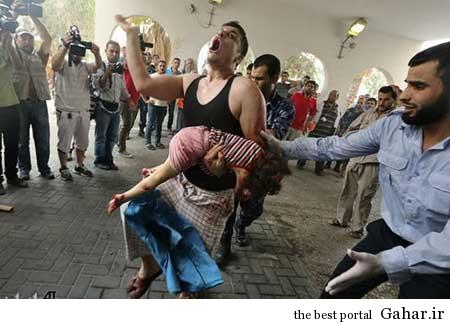 9304 6m393 کودکان غزه غرق در خون / عکس (18+)