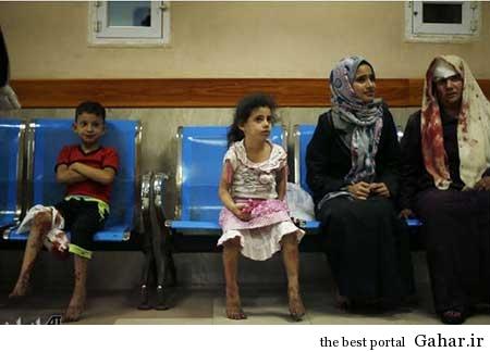 9304 6m401 کودکان غزه غرق در خون / عکس (18+)