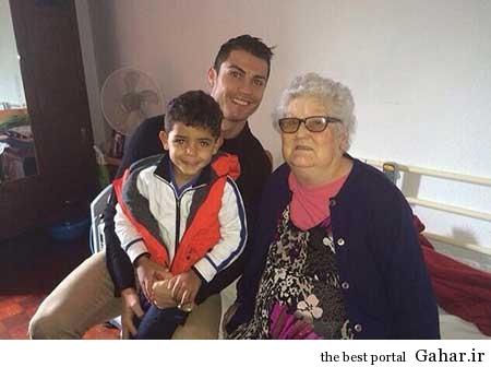 9304 6m522 پسر کریستیانو رونالدو با جنجالی جدید / عکس