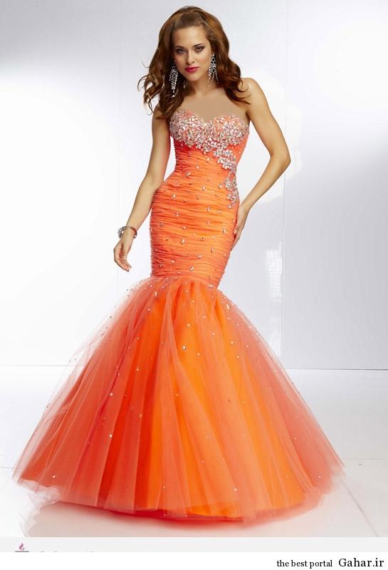 9665 مدل لباس نامزدی پرنسسی برند Mori Lee