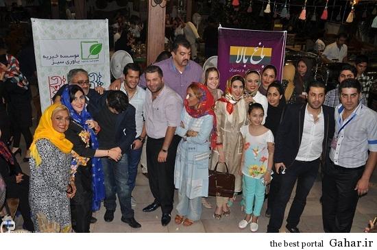 Bazigaran 3902 عکس های بازیگران در مراسم خیریه در قشم