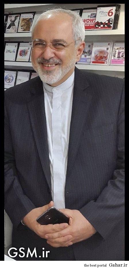Drsm گوشی دکتر ظریف چیه؟ / عکس