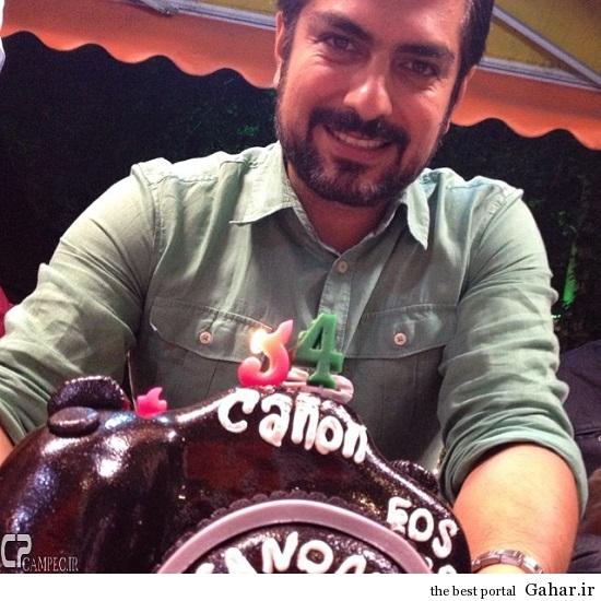 Mehdi Pakdel 55 2 عکس از جشن تولد مهدی پاکدل