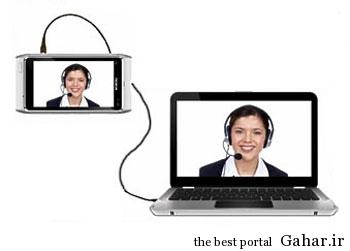 co3974 راهکار تبدیل اسمارت فون به وب کم