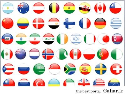 country reptrak flags ۱۰ کشور محبوب جهان از نگاه روزنامه آمریکایی