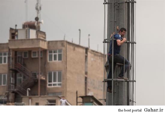 hamidreza10 خودکشی ناموفق در میدان هفت تیر تهران +تصاویر