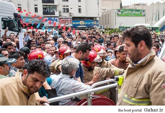 hamidreza14 خودکشی ناموفق در میدان هفت تیر تهران +تصاویر