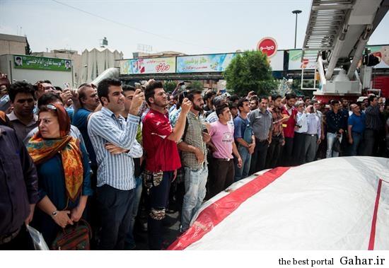 hamidreza2 خودکشی ناموفق در میدان هفت تیر تهران +تصاویر