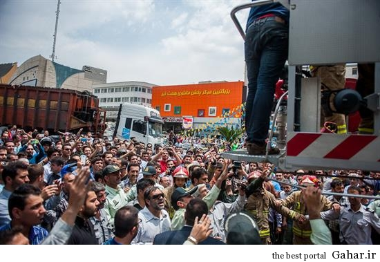 hamidreza3 خودکشی ناموفق در میدان هفت تیر تهران +تصاویر