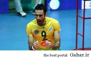 hhs1866 بیوگرافی والیبالیست تیم ملی ایران عادل غلامی