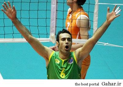 hhs1867 بیوگرافی والیبالیست تیم ملی ایران عادل غلامی
