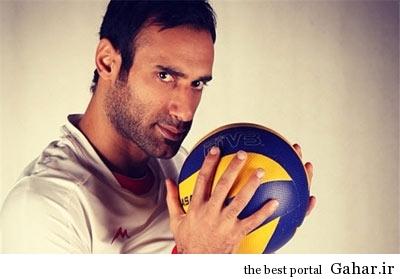 hhs1869 بیوگرافی والیبالیست تیم ملی ایران عادل غلامی