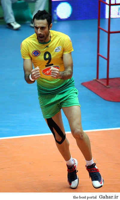 hhs1870 بیوگرافی والیبالیست تیم ملی ایران عادل غلامی