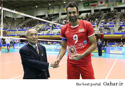 hhs1871 بیوگرافی والیبالیست تیم ملی ایران عادل غلامی