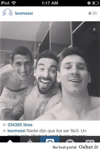 leo messi selfie عکس سلفی لیونل مسی پس از شکست سوئیس