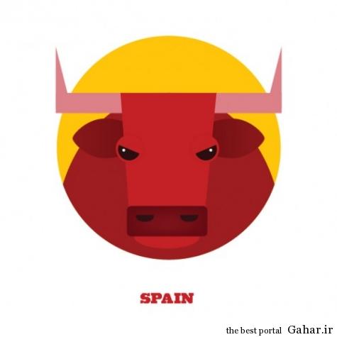 mail 11 475x475 حیوانات نماد کشورها در جام جهانی 2014