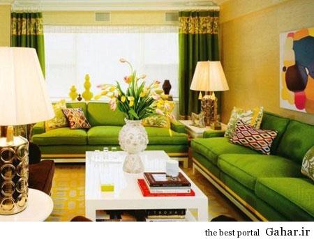 mo14596 دکوراسیون سبز رنگ منزل 2014