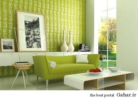 mo14597 دکوراسیون سبز رنگ منزل 2014