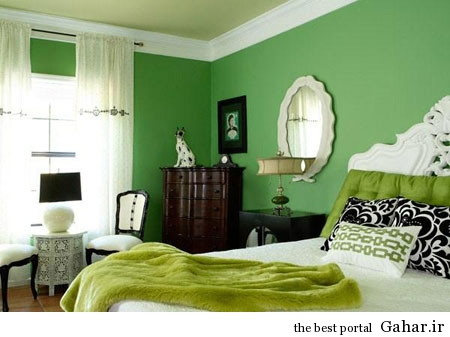 mo14599 دکوراسیون سبز رنگ منزل 2014