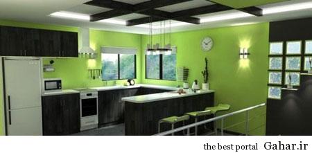 mo14601 دکوراسیون سبز رنگ منزل 2014