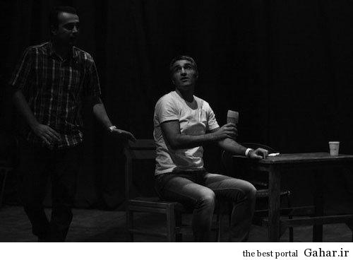 pj11 پژمان جمشیدی در پشت صحنه یک نمایش