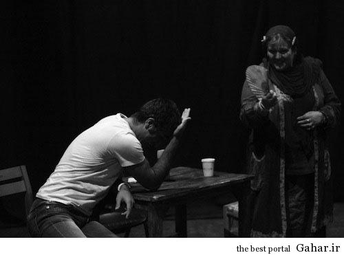 pj14 پژمان جمشیدی در پشت صحنه یک نمایش